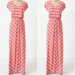 Puella Anthropologie Cinch Flow Maxi Dress XSmall